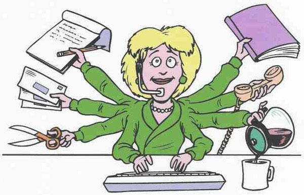 Должностные обязанности секретаря-референта